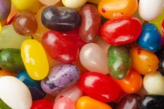 Dragee, candy and sweets-multicolored close-up, macro royalty free stock photo