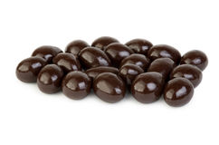 Dragee - nuts in chocolate glaze Royalty Free Stock Photo