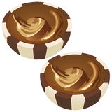 Drageia do chocolate Fotografia de Stock
