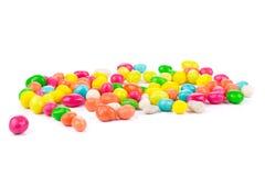 Drageia dos amendoins na tampa colorida Imagem de Stock Royalty Free