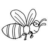 Dragen biklotterhand stock illustrationer
