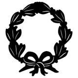 Dragen hand f?r eps f?r lagerkransvektor, vektor, Eps, logo, symbol, crafteroks, konturillustration f?r olikt bruk stock illustrationer