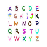 Dragen illustration för alfabetvektor hand Royaltyfri Foto