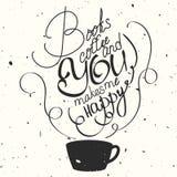 Dragen typografiaffisch för vektor hand Royaltyfria Bilder