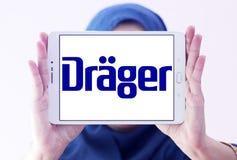 Drager, Drägerwerk, bedrijfembleem stock afbeelding
