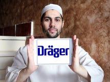 Drager, Drägerwerk, bedrijfembleem royalty-vrije stock afbeelding
