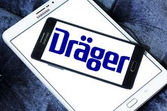 Drager, Drägerwerk, bedrijfembleem stock fotografie