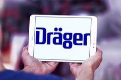 Drager, Drägerwerk, firma logo Obraz Stock