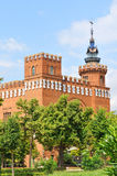 Draghi di Tres dei dels di Castell a Barcellona, Spagna Immagine Stock