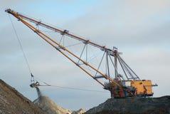 dragline ανοικτό κοίλωμα Στοκ εικόνα με δικαίωμα ελεύθερης χρήσης