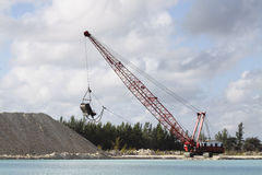 Dragline 1 Photo libre de droits