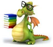 Dragón de la diversión Imágenes de archivo libres de regalías