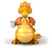 Dragón de la diversión Imagenes de archivo