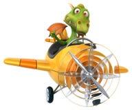 Dragón de la diversión Imagen de archivo libre de regalías