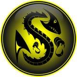 Dragón del vector Imagenes de archivo