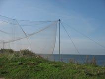 Dragnet fishing Stock Images