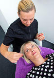 Dragning av hårborttagning Royaltyfria Foton