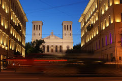 St Petersburg Ryssland Arkivfoton
