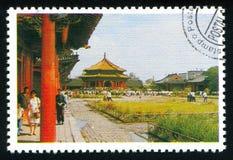 Dragningar Kina arkivbild