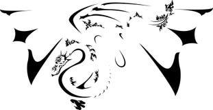 Drago illustrazione vettoriale