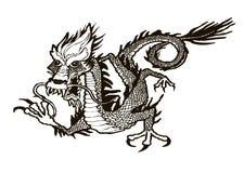Drago Illustrazione di Stock