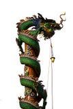 Drago al tempio cinese Fotografia Stock Libera da Diritti