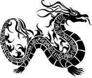 Drago asiatico illustrazione vettoriale