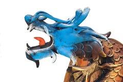 Drago blu Fotografie Stock