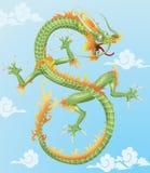 Drago cinese illustrazione di stock