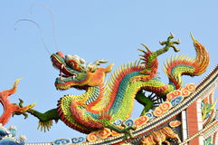 Drago cinese fotografie stock