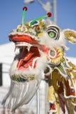 Drago cinese di parata di nuovo anno   Immagine Stock Libera da Diritti