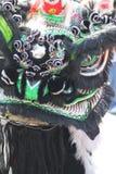 Drago cinese di parata di nuovo anno fotografie stock libere da diritti