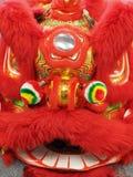 Drago cinese rosso per il nuovo anno cinese Fotografie Stock