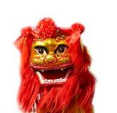 Drago cinese su bianco Fotografie Stock