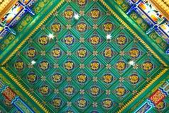 Drago cinese sul soffitto Fotografia Stock Libera da Diritti