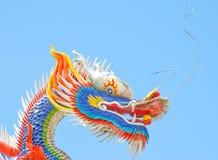 Drago cinese variopinto Fotografie Stock Libere da Diritti