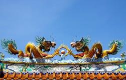 Drago della Cina Fotografie Stock Libere da Diritti