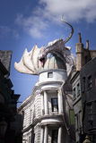 Drago di Diagon Alley Fotografia Stock