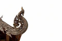 Drago di legno Immagini Stock Libere da Diritti