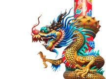 Drago di stile cinese Fotografia Stock Libera da Diritti