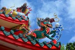 Drago di stile cinese Fotografie Stock Libere da Diritti