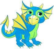 Dragão do bebê Fotografia de Stock Royalty Free