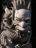 Dragão do templo Fotos de Stock