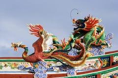 Drago e Phoenix Fotografia Stock Libera da Diritti
