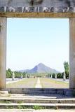 Drago e portone di Phoenix nelle tombe reali orientali del Qing D Immagini Stock