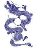 Drago giapponese Fotografie Stock