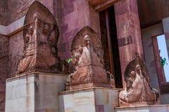 Drago nel tempio immagini stock libere da diritti
