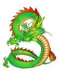 Drago orientale illustrazione di stock