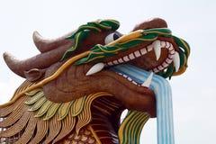 Drago in Suphan Buri, Tailandia Fotografia Stock