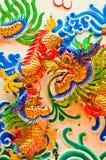 Drago in un tempio Tailandia Immagine Stock
